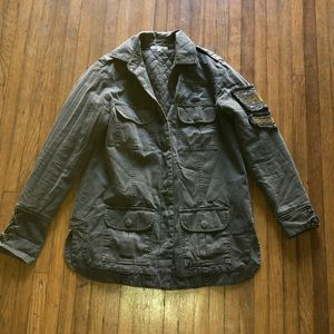 Willow & Clay army utility jacket 🌿